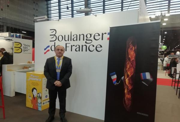 Dominique Anract sur le salon Europain
