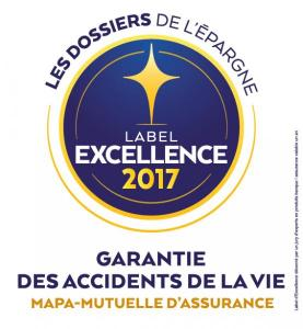 Label Excellence MAPA Garantie Accidents de la Vie